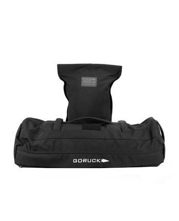 GoRuck - Sandbag 40LB w/ Fillers Black