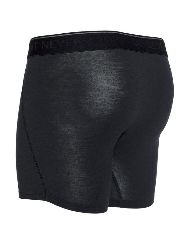 DNS Alpha Merino Jockey Shorts Black Schwarz