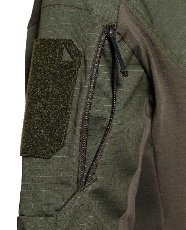 DNS Alpha Combat Shirt FR Olive Green